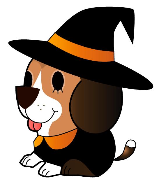 Chic se viste de bruja para Halloween