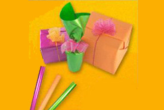 Cupón de descuento semanal: envoltorio para regalo