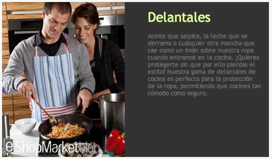Escaparate de la semana delantales de cocina e shopmarket for Delantales de cocina