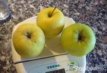 Menú de recetas: manzanas Golden para la Tarta Tatin.