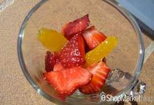 Menú de recetas: cóctel de fresas y naranja, especial para personas a dieta o régimen