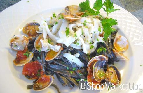 Menú de recetas: Espagueti Sepia di Mare