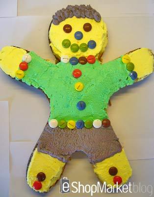 Menú de recetas: tarta de cumpleaños infantil