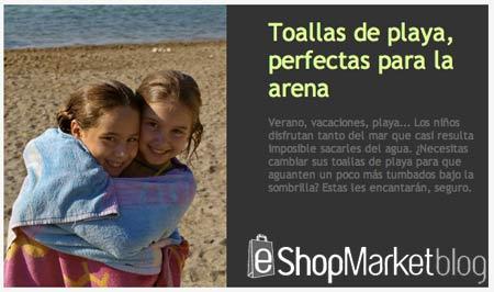 Escaparate destacado de la semana: toallas de playa para niños