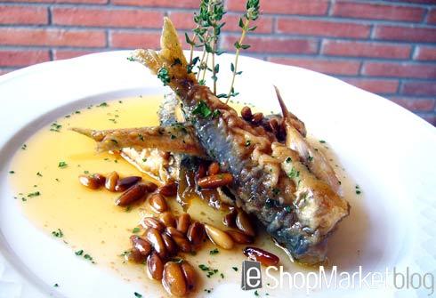 Sardinas en escabeche, menú de recetas