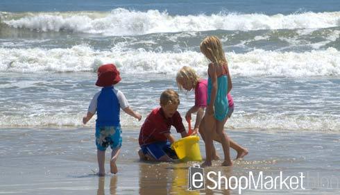 Toallas de playa para los niños