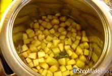 Menú de recetas: hervimos el melón troceado