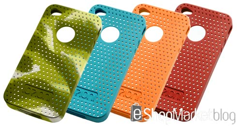 Fundas de silicona para iPhone 4 de IO?ION!