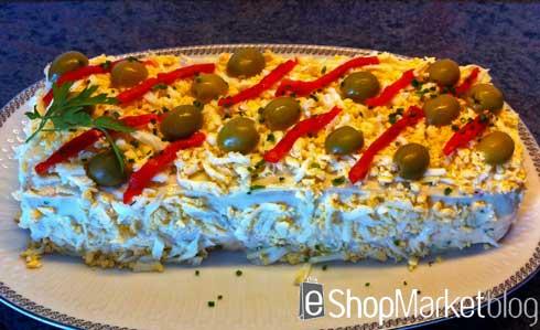 Pastel de verano, menú de recetas