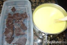 Menú de recetas: preparamos la salsa de chocolate