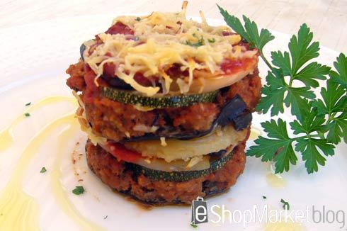 Musaka, menú de recetas
