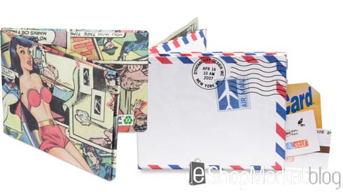 Carteras y billeteras de aspecto de papel Mighty Wallet