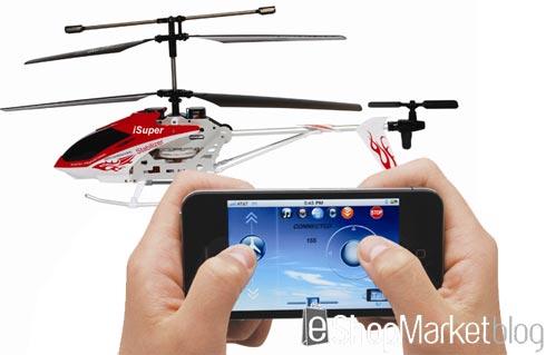 iSuper bluetooth, un helicóptero para manejar desde el iPhone