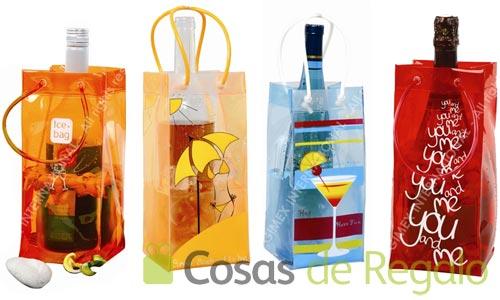 Transporta los vinos y cavas mientras se enfrían con las bolsas enfriadoras Ice.bag®