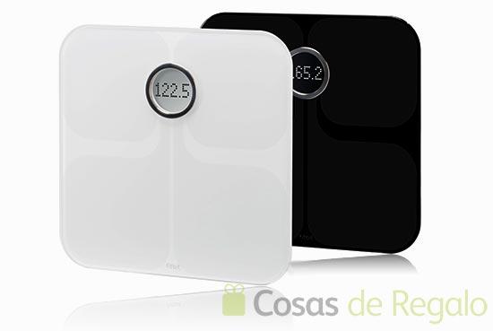 Báscula de baño Fitbit Aria, facilita el control del peso
