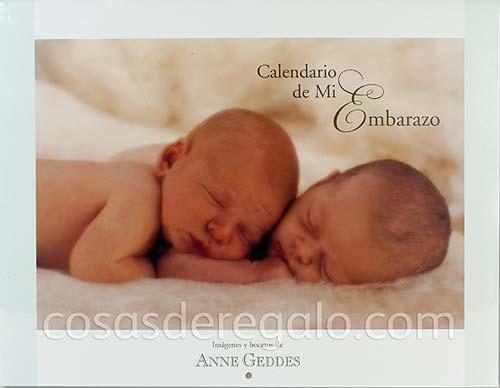 Calendarios de Anne Geddes, el regalo perfecto para una futura mamá