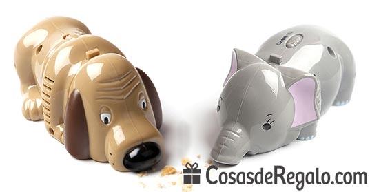 Recogemigas Sniff, divertidos aspiradores con forma de animales