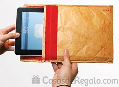 Fundas protectoras para iPad con aspecto de sobre de papel
