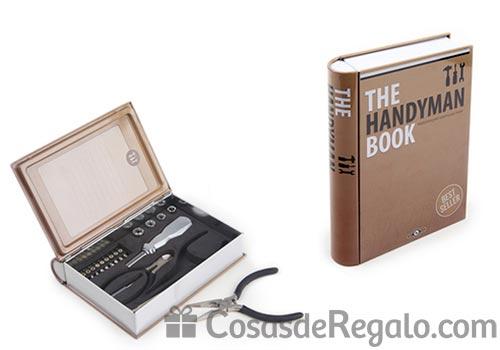 The Handyman Book, caja de herramientas dentro de un libro