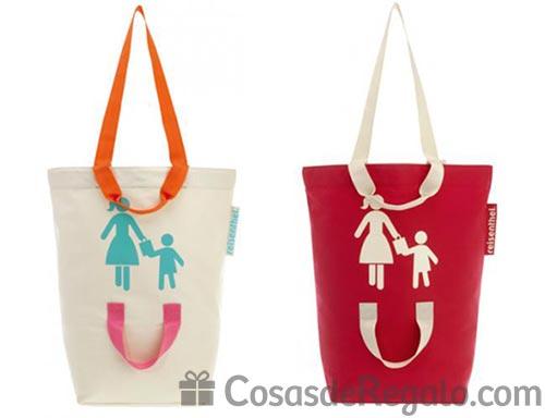 Bolsa de la compra para madre e hijo