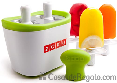 Prepara divertidos polos y helados con la heladera Zoku