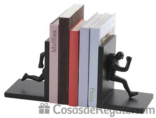 Sujetalibros originales, pon en orden tu librería