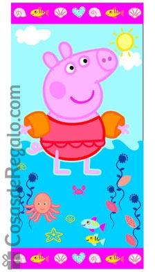 Toallas de playa para niños: Peppa Pig