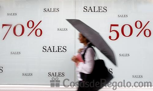 Rebajas en regalos: hasta el 70 % de descuento