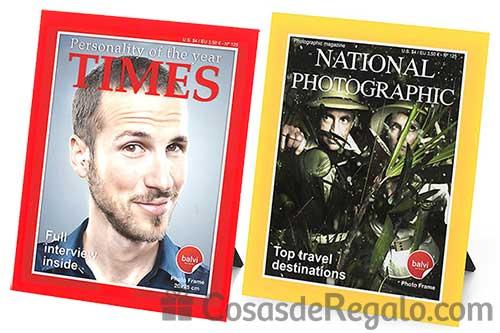 Marcos de fotos inspirados en la portada de revistas