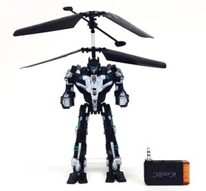 Robot volador para iPhone y Android