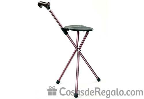Bastón con asiento incorporado