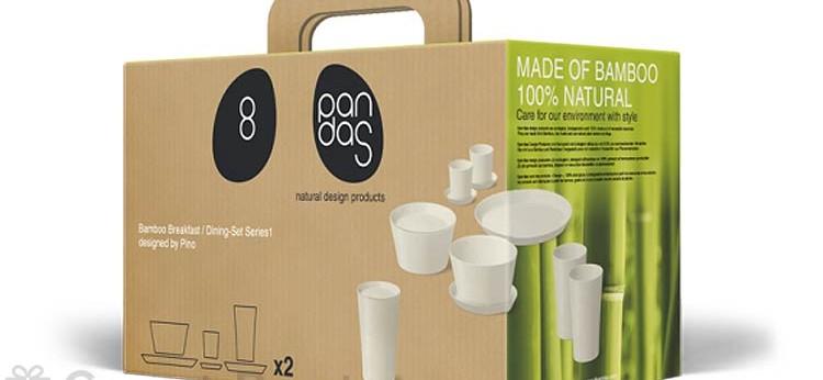 Vajilla de bambú 8Pandas en rebajas, regalos orgánicos para tu hogar
