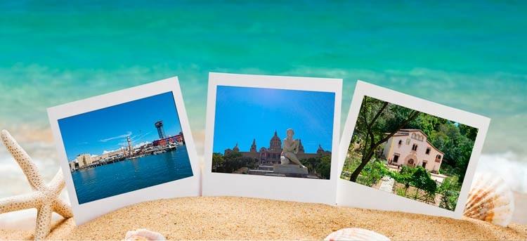 Pon los recuerdos de vacaciones donde se merecen: marcos de fotos originales