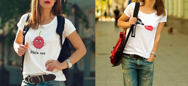 Nuevas camisetas personalizadas: diferentes y divertidas
