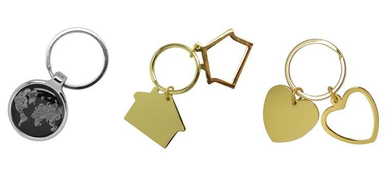 Llaveros originales con los que da gusto abrir la casa