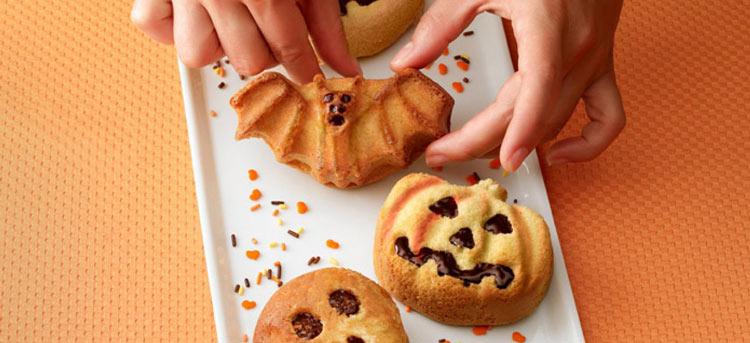Molde para preparar pasteles de Halloween