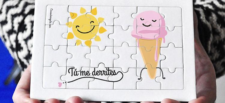 Puzzles personalizados: invítales a construir su regalo