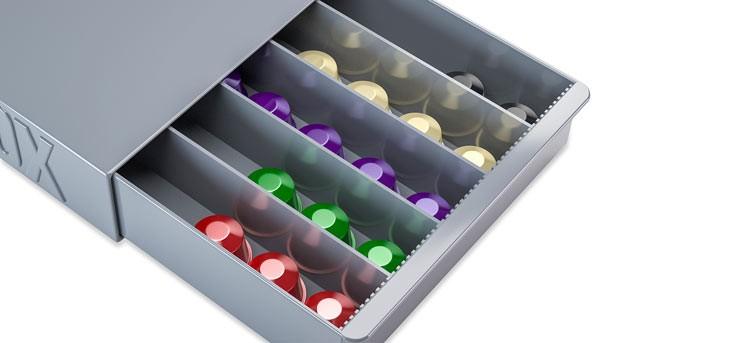 Coffee Box, el mejor organizador para tus cápsulas de café