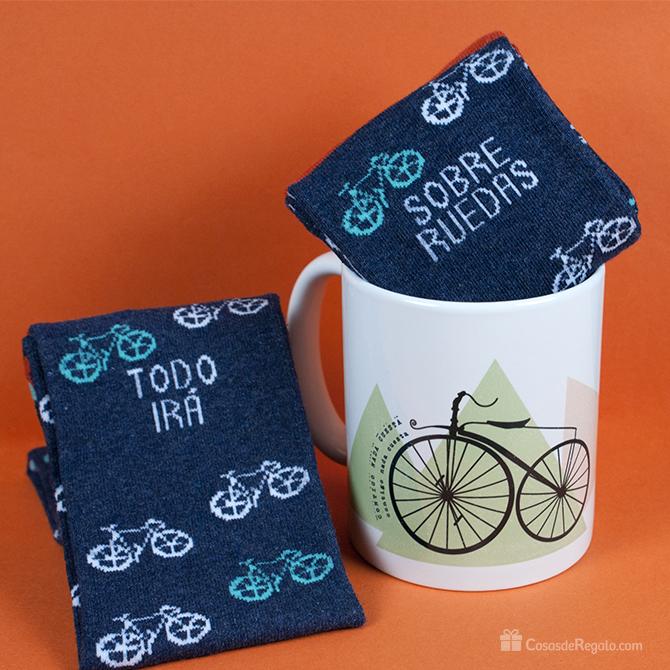 Pack de regalos taza y calcetines para hombres