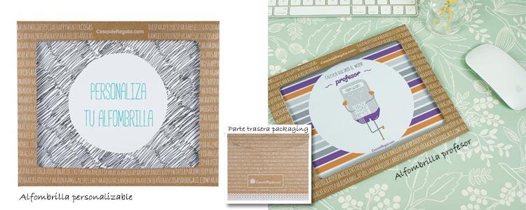 Packaging alfombrillas CosasdeRegalo.com